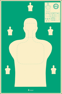 Georgia Public Safety Training Center Target (New Standard Size)