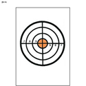Bull's-Eye Target w/ Orange Center
