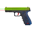 "SIRT Green/Red ""Zombie"" Training Pistol"