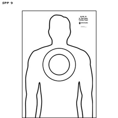 St. Paul (MN) PD Upper Chest Impact Area Target