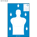 Georgia Public Safety Training Center Target (Blue)