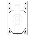 Official CARDBOARD Sig Sauer Training Academy Target