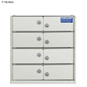"TufLoc ModuBox 14"" 8-Compartment Locker"