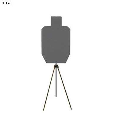 LET 1/2 Size Steel IPSC Target and Stand