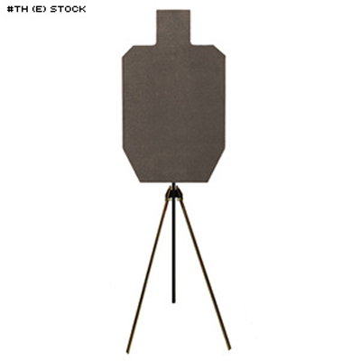 LET IPSC Steel Target and Stand (Standard)