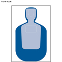 Standard TQ-19 Qualification Target (Blue)