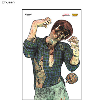 "Full Color ""Jimmy"" Zombie Target"