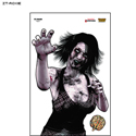 "Full Color ""Roxie"" Zombie Target"